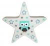 LED Stern Nachtlicht 12 cm mit Eule und Sternen