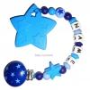 Beisskette mit Sternen