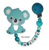 Beisskette mit *Koala, Sternenperle und Herz
